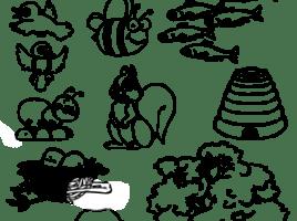 En donde viven los animalitos
