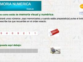 Memoria numérica