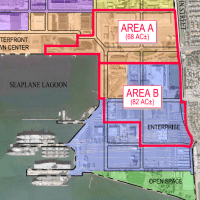 The City of Alameda is hosting an open house for the public to meet developer finalists for two sites at Alameda Point.