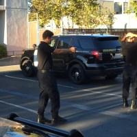 CHP Explorer felony traffic stop exercise. (California Highway Patrol)