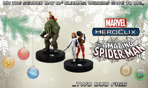 Spiderman HeroClix Duo Figures