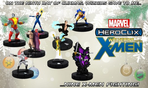 Wolverine and the X-Men HeroClix by WizKids