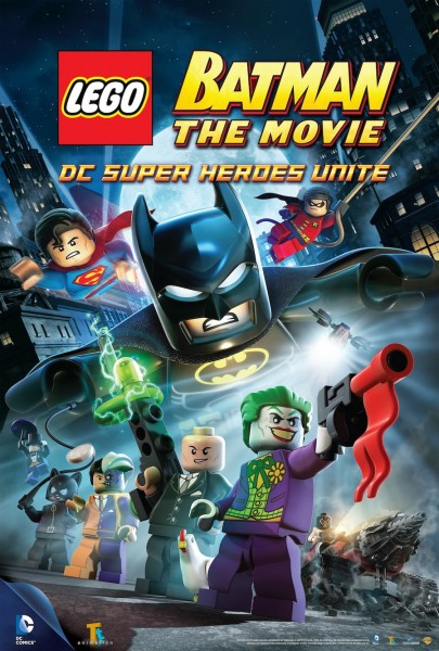 LEGO Batman cover art