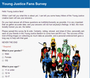 YoungJusticeSurvey