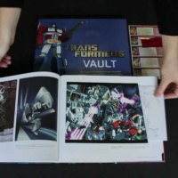 TRANSFORMERS VAULT: THE COMPLETE TRANSFORMERS UNIVERSE BOOK