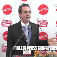 Full Press Conference From Mattel's Toy Fair 2013 Collector's Press Event