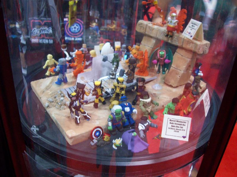 Mini Mates - Marvel Comics