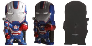 Iron Patriot Glowing Eyes Chara-brick