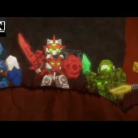 Tenkai Knights on Cartoon Network
