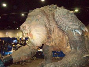 RICC 2013 Giant Rancor Monster Prop