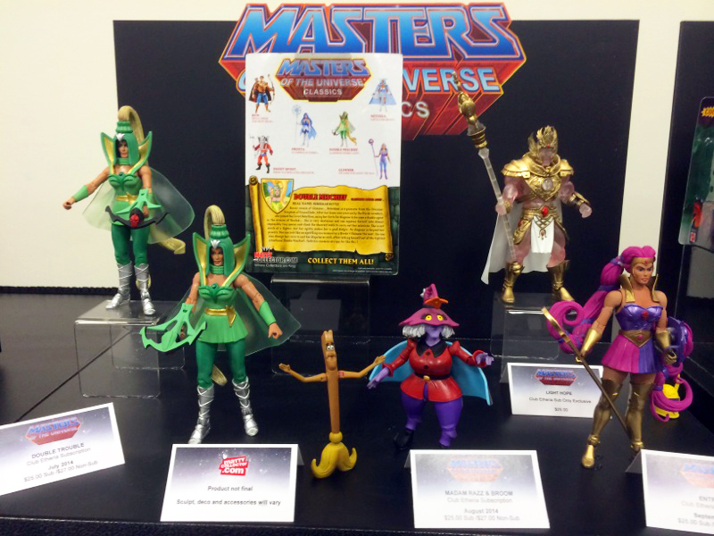 Masters of the Universe Classics MOTUC Toy Fair 2014
