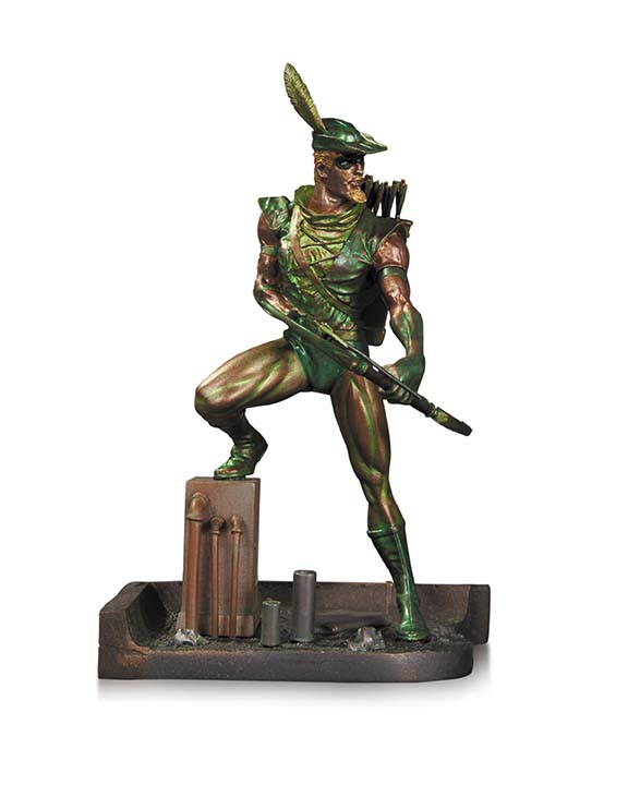 18_PatinaMiniStatue_GreenArrow