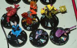 War Of Light FAst Forces from DC 75th Anniv set.