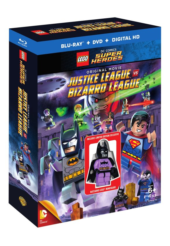 Download Film Lego Dc Comics Super Heroes Justice League Vs Bizarro League 2015