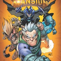 SuperMansion Comic Book Cover
