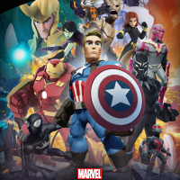 Marvel Battlegrounds Play Set Poster