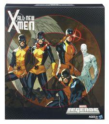 Marvel Legends All-New X-Men - Front of pack