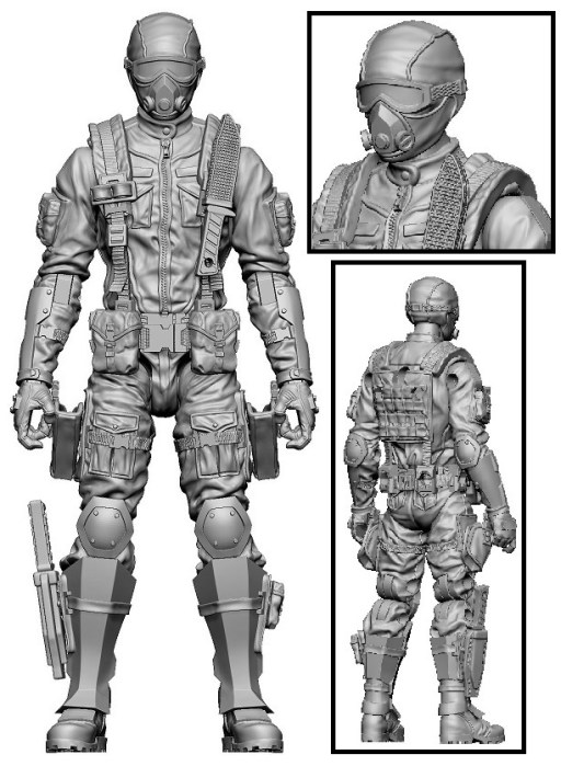 Marauder Task Force Gaming Figures 17
