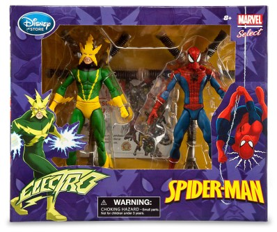 Spider-Man and Electro Action Figure Set - Marvel Select