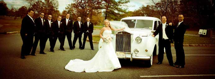 New Jersey wedding limousine service