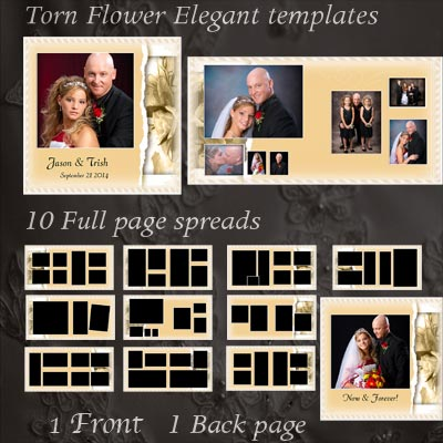 psd wedding album templates - Ozilalmanoof - photo album templates free