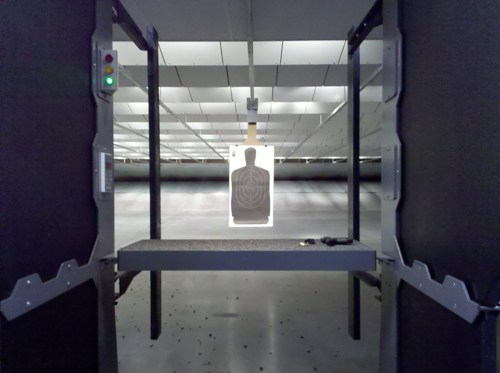 Shooting Stall Action Target