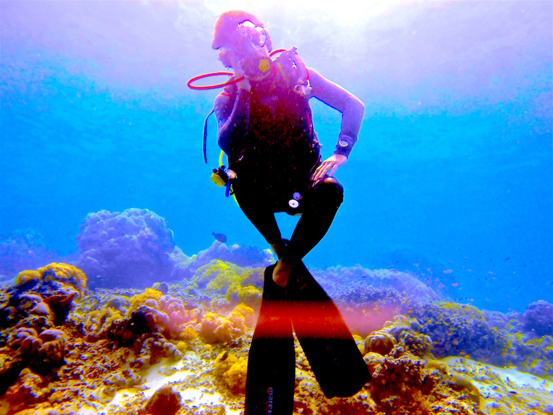 Buceo Emocional: en el agua