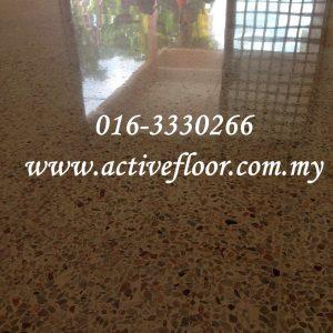 terrazzo floor cleaning & polishing malaysia