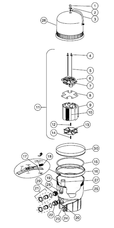air pressure schematic