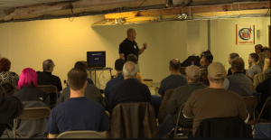 Teaching at the RangeMaster Conference