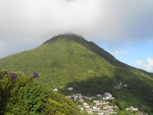Mt. Scenery on the Island of Saba