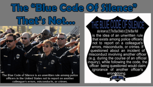 """That """"Blue Code Of Silence"""", That's Not… - The Bang Switch 2015-02-16 10-30-12"""