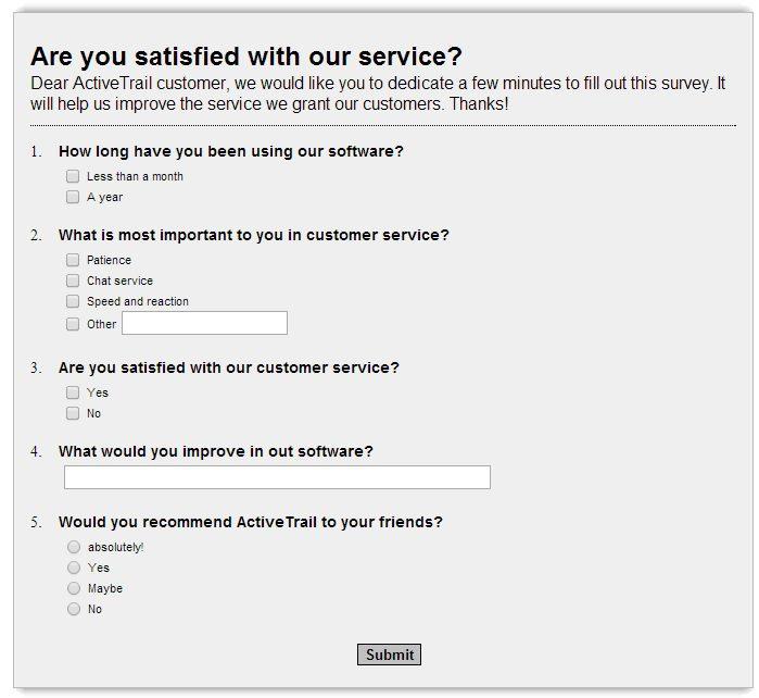 How to Take Advantage of Online Survey Benefits I ActiveTrail