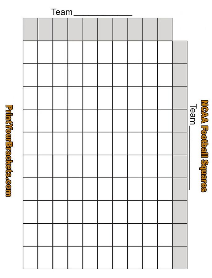 office football pool template