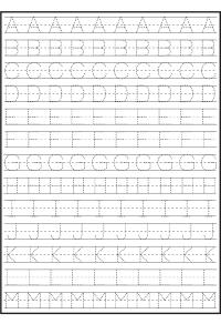 Abc Handwriting Practice Worksheets - printable abc ...