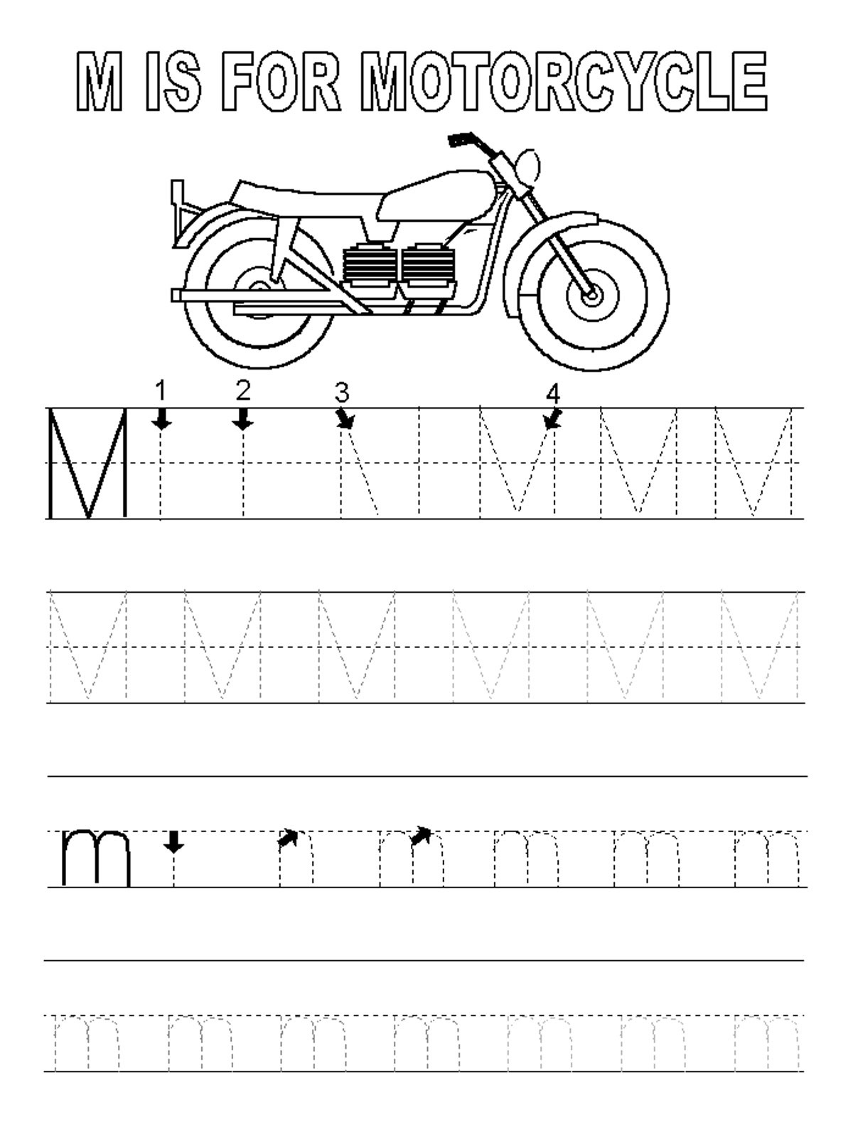 Letter r coloring pages for toddlers - Letter H Coloring Pages For Toddlers Letter M Worksheets Activity Shelter Download