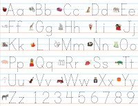 Pre K Letters Templates | Activity Shelter