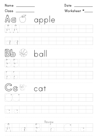Free Handwriting Worksheets for Kids | Activity Shelter