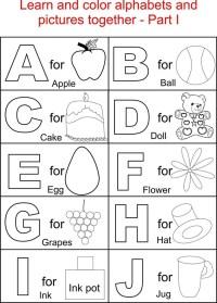 Free Alphabet Worksheets 2017