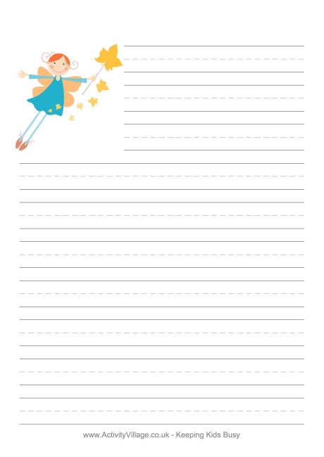 Lined story writing paper template - visualbrainsinfo - lined letter writing paper