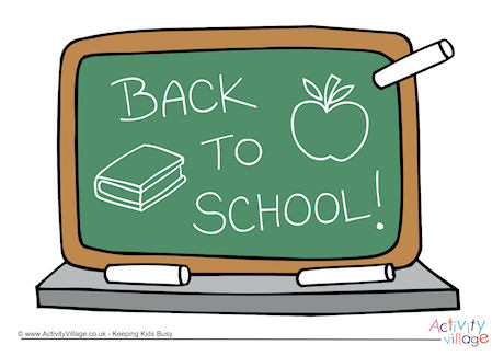 Welcome Back to School Printables