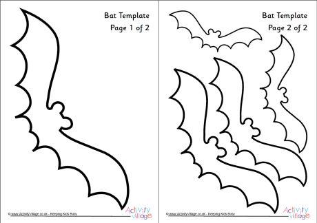 Bat Template 1 - bat template