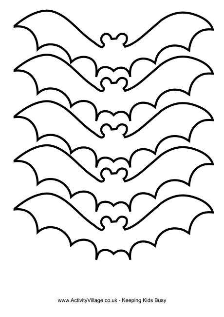 Bat Template 3