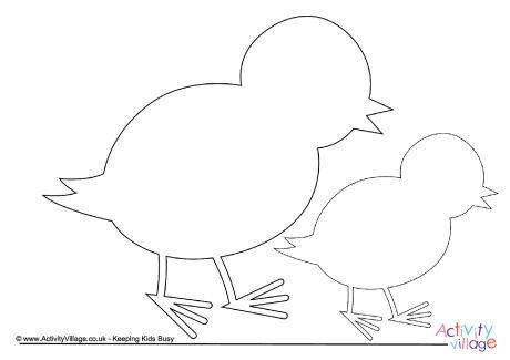 Chick Printables