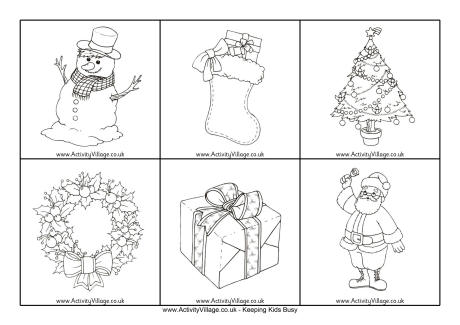 Christmas Picture Cards - Black and White - christmas cards black and white