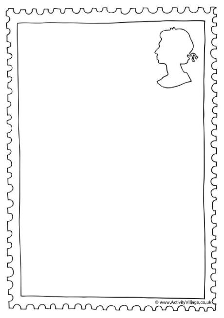 Design A Stamp - stamp template