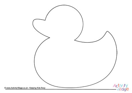 Duck Printables