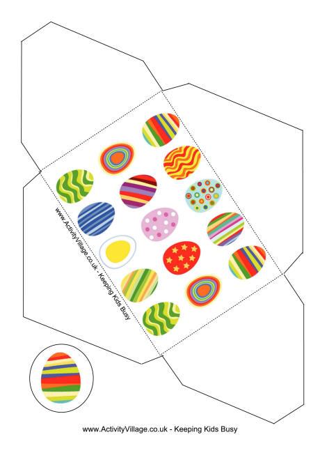 Easter Gift Envelopes - money gift envelope template