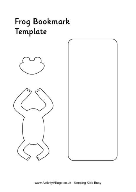 Frog Door Hanger Template - door hanger template