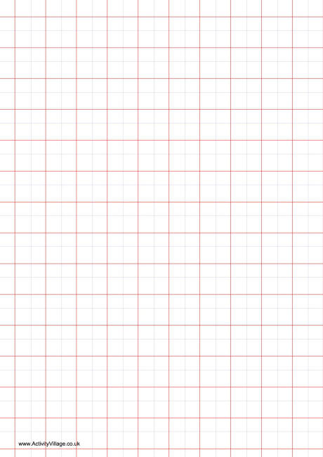 how big are graph paper squares